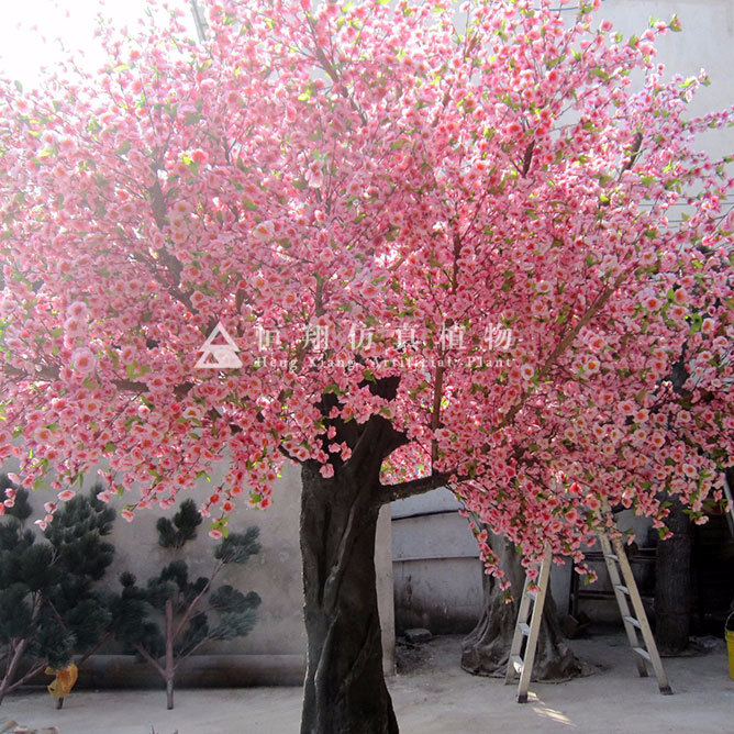 Artificial Cherry Blossom Tree American Canada China Factory Outdoor Indoor Decoration All Season Fiberglass Communities Decking Buy American Canada Artificial Cherry Blossom Tree China Factory Product On Alibaba Com