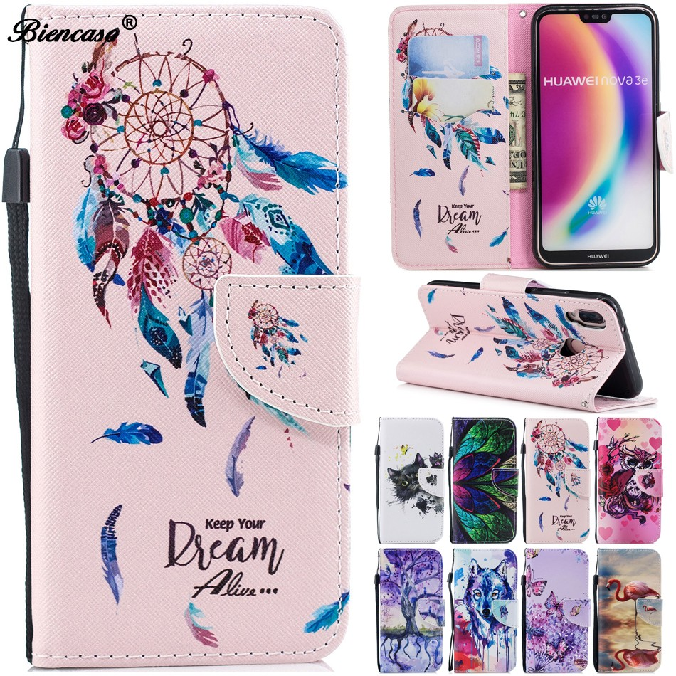 Flip Case For Huawei P20 Pro P10 P8 Lite P Smart Y3 2017 Y5 Iii Pu Leather Silicon Wallet Stand Cover Coque Honor 6a 8 9 B312 - Buy Flip Case For ...