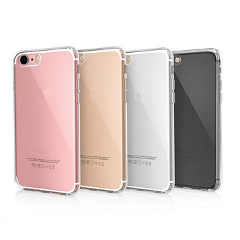 Soft TPU Back Cover For Iphone X Xs Xr 6 7 8 Case Shockproof Clear Transparent Mobile Phone Case For iPhone 11 Pro Max 12 Pro