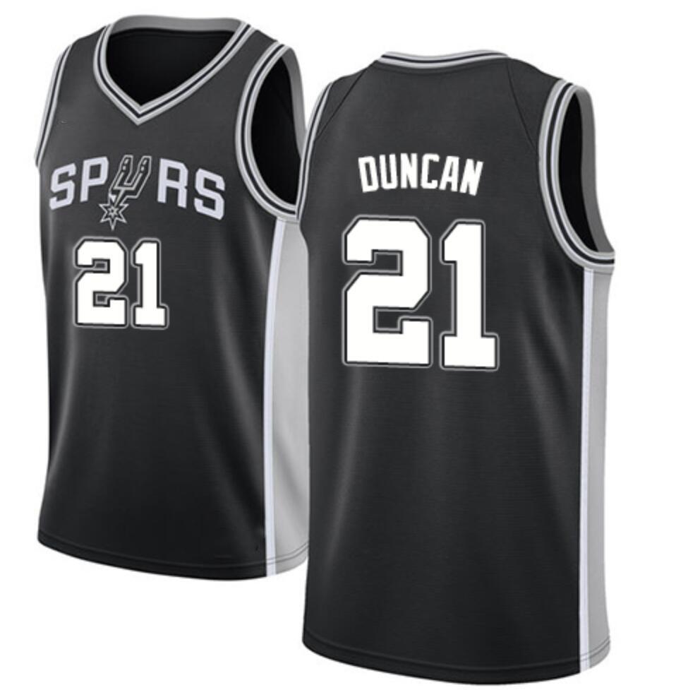 2020 Cheap New American Basketball Teams Sports Jerseys Custom Wholesale San Antonio 2 Kawhi Leonard 9 Tony Parker 21 Tim Duncan - Buy Basketball ...