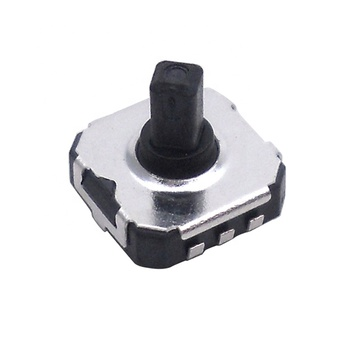 TS-K003 SMT/SMD 5 ways position momentary tactile switch 12v 50mA square button switch
