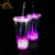 LED Flash Light Up Drinking Glasses Multi-color LED Double Wall Tumblers For Bar Night Club Party Drink