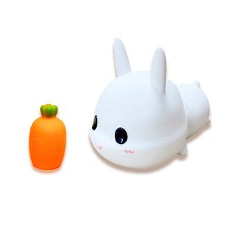 Hot selling New Design Mini Baby led light cute Rabbit Night Light for bedroom or office and Great Gift for kids