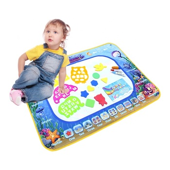 Amazon Bestseller Multifunctional Educational Drawing Toy Large Aqua Doodle Aquadoodle Water Drawing Mat for Kids