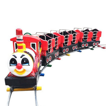 Kids amusement park electric trains mini electric train thomas