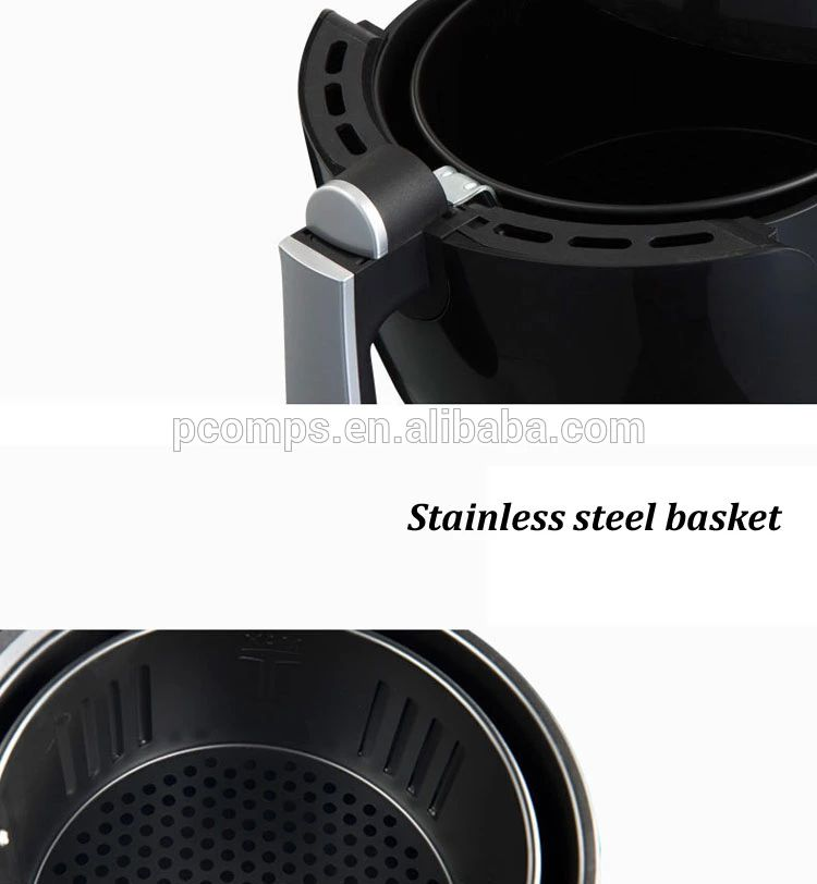 Family Size 1700W Digital Air Fryer Hot Air Cookers Oilless Fast Cook Nonstick Basket Easy to Disassemble and Clean