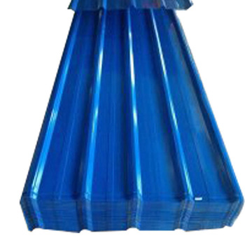 Factory wholesale sea blue roof tile special color steel sheet roll