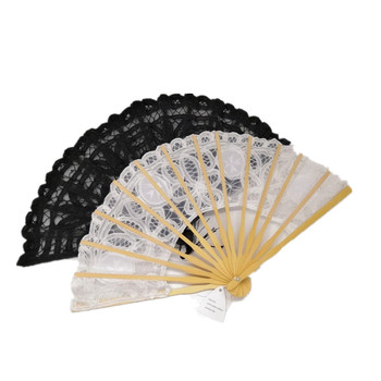 Decorative craft lace fan hand fan as Bride Hand Fan