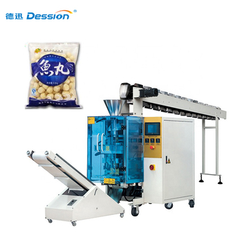 Semi automatic frozen food/ fish ball/ chicken wings packing machine