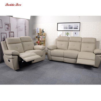 Family modern simple manual function or electric leather salon furniture beauty and cinema chairs mueble de sala for sale sofa