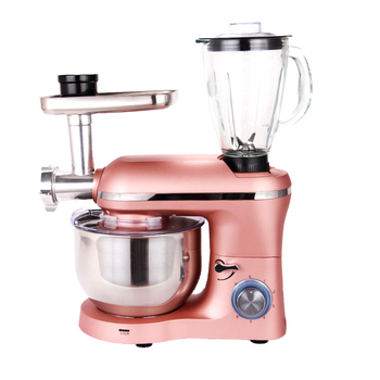 Household Low Noise 5.5L Bowl Batidora Dough Cake Mixer and Juicer Blender and Meat Grinder Multifunction Stand Food Mixer