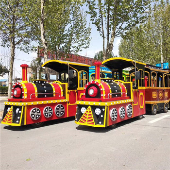 Amusement Park Equipment Thomas The Trackless Train