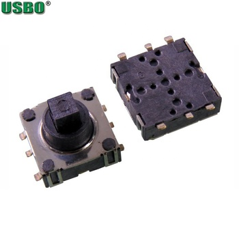 USBO 6Pins 10*10*8..6 Multi-directional Button Reset SMD Five Way Tact Switch