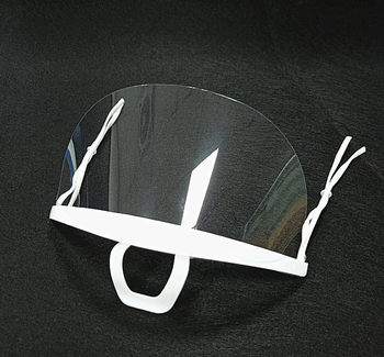 Best Product Anti-Fog Transparent Sanitary Face Shield for Restaurants Tattoo Makeup Catering
