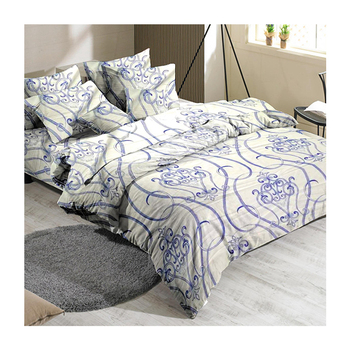 China supplier elegant fitted bedsheet cheap bedding set queen size wholesale bed sheet