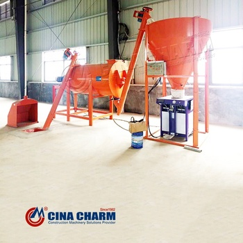 3T Water proof dry mortar producing line with formula