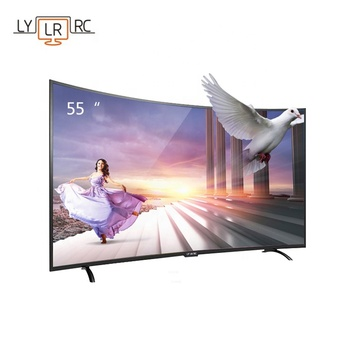 TV008 65 Inch LCD 32 42 50 55 60 75 Network Android System Tv Led WIFI Smart Curved Tvs
