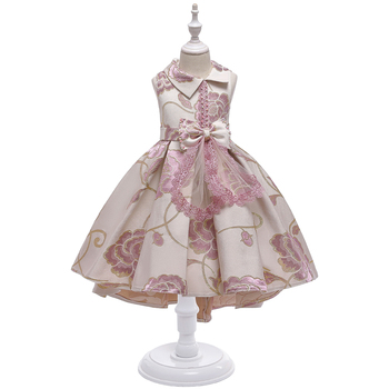 New Fashion Frock Design For Baby Girl Children Clothes Kids Party Wear Dress L5189