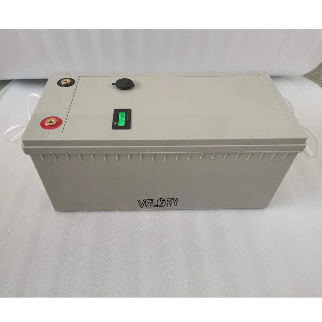 None hazardous deep cycle rechargeable 12 volt 12v battery lithium ion