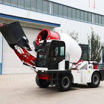 China Manufacturer Supplier 1 to 4 CBM Small Mini concrete mixer Self Loading concrete mixer truck for Sale