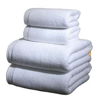 Hot Selling Luxury High Quality Pool Spa Turkish 100% Pure White Cotton Terry Towel Hotel 21 Hand Bath Towels