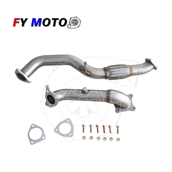 Exhaust downpipe for Honda civic 1.5T 2016+ with Ceramic Coating