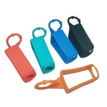 2020 keychain gel 30ml hand sanitizer holder with silicone