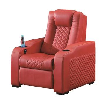 small family The manufacturer produces modern simple leather sofa for cinema single chair leather sofa for theater