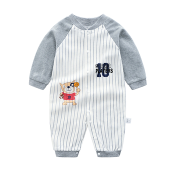 Kids Clothing Baby Clothes Tiny Baby Clothes Pajamas Knitted Newborn Long Sleeve Romper Baby