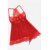 Mesh Babydoll with Thong Fashion Women Dress Hot Lace Bralette Garter Set Lingerie Sexy Hot Transparent