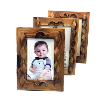 5x7 Recyclable solid wood made Factory direct sales latest design photo frame National style design