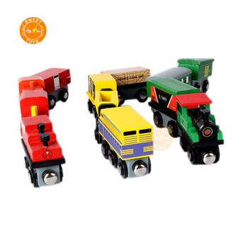 Wooden Train Toys Preschool Children Educational Wood train toys for kids
