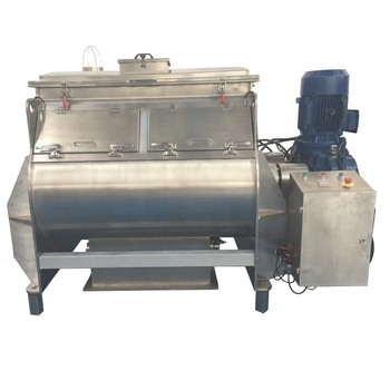 Infant Formula Manufacture Stainless Steel Twin Shafts High Quality Paddle Mixer