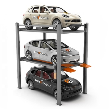 New design Car park lift hydraulic auto 4 post parking lift car parking system