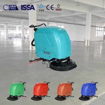 E510S commercial electric industrial cleaning machine floor scrubber cleaning equipment
