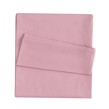 High Quality 100% Cotton Sateen Bed Sheet OEM Plain Dyed