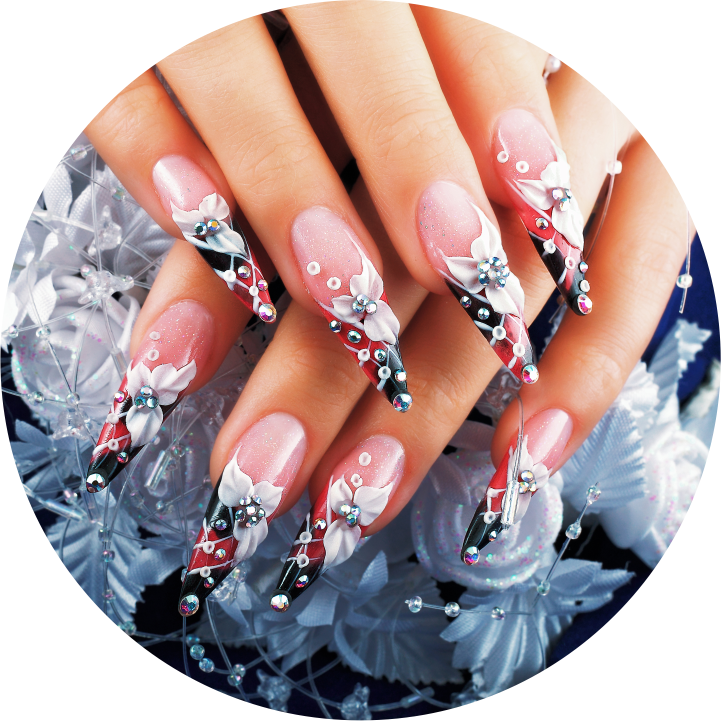 glow in dark nail designs