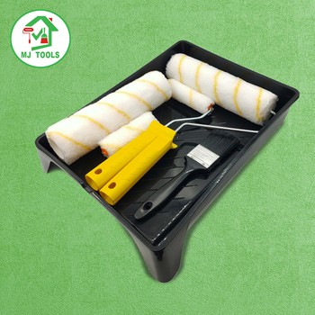 multifunction 9 inch 18 inch black plastic Set Tray Paint Roller Kit