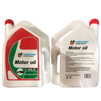 Long life car engine lubricant motorcycle oil 5L