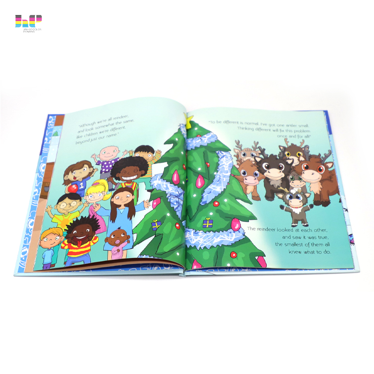 Hardcover book printing Service,Custom-made China children board book printing thick cardboard book for education,Custom softcover hardcover binding soft cover books