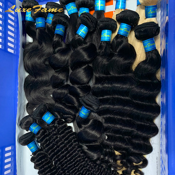 Free Sample Hair Bundle Virgin Cuticle Aligned Hair From India,Raw Virgin Indian Human Hair,Raw Indian Temple Hair Vendor