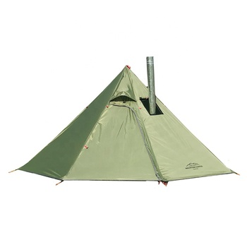 Factory China Professional Tipi Teepee Stove Tent for Camping Hiking Backpacking