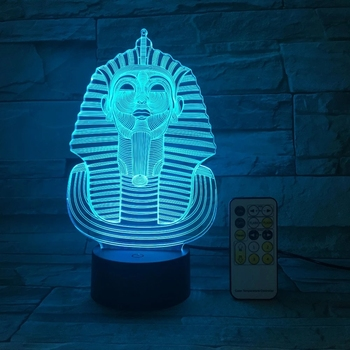 The Great Sphinx Of Egypt Model 3D Lamp LED Acrylic Night Light With 7 Colors Light For Home Decoration Lamp Child Kid Xmas Gift