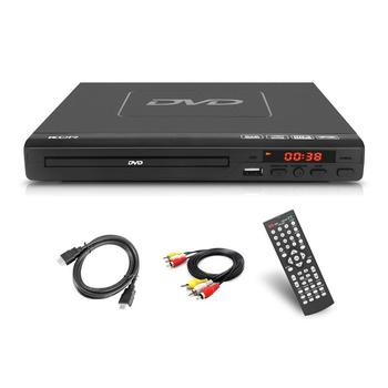 DVD Player for TV,All region Free DVD CD Disc,with Remote Control USB