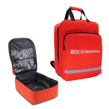 Emergency kit Field Travel First Aid Kit Earthquake Fire Fighting Emergency Medical Kit First Aid Waist Bag Empty Bag