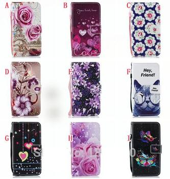 For IPhone X XR XS Max Flower Print Wallet Leather Case Flip Cover For IPhone 11 Pro Max 8 7 6 6S Plus 5 5S SE 5G Case