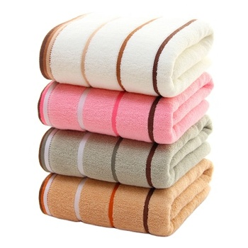 wholesale bathroom stripe design special thickening Egyptian Cotton Towel