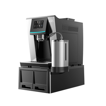 High technology touch screen function coffee machine for cafe