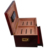 Luxury Custom Packaging Manufacturer Red Glossing Empty Humidor Wood Cigar Box