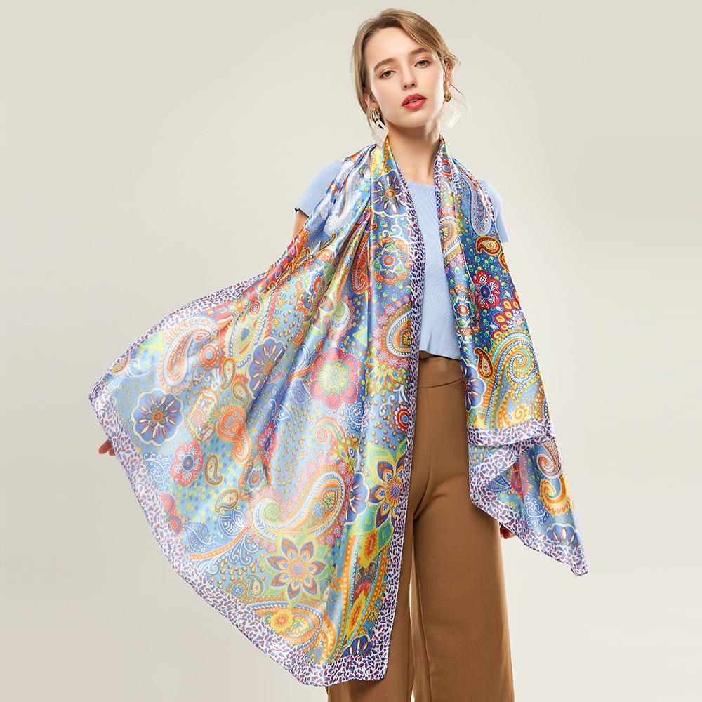 Use4 Color Dragonfly Chiffon Silk Long Scarf Shawl Wrap